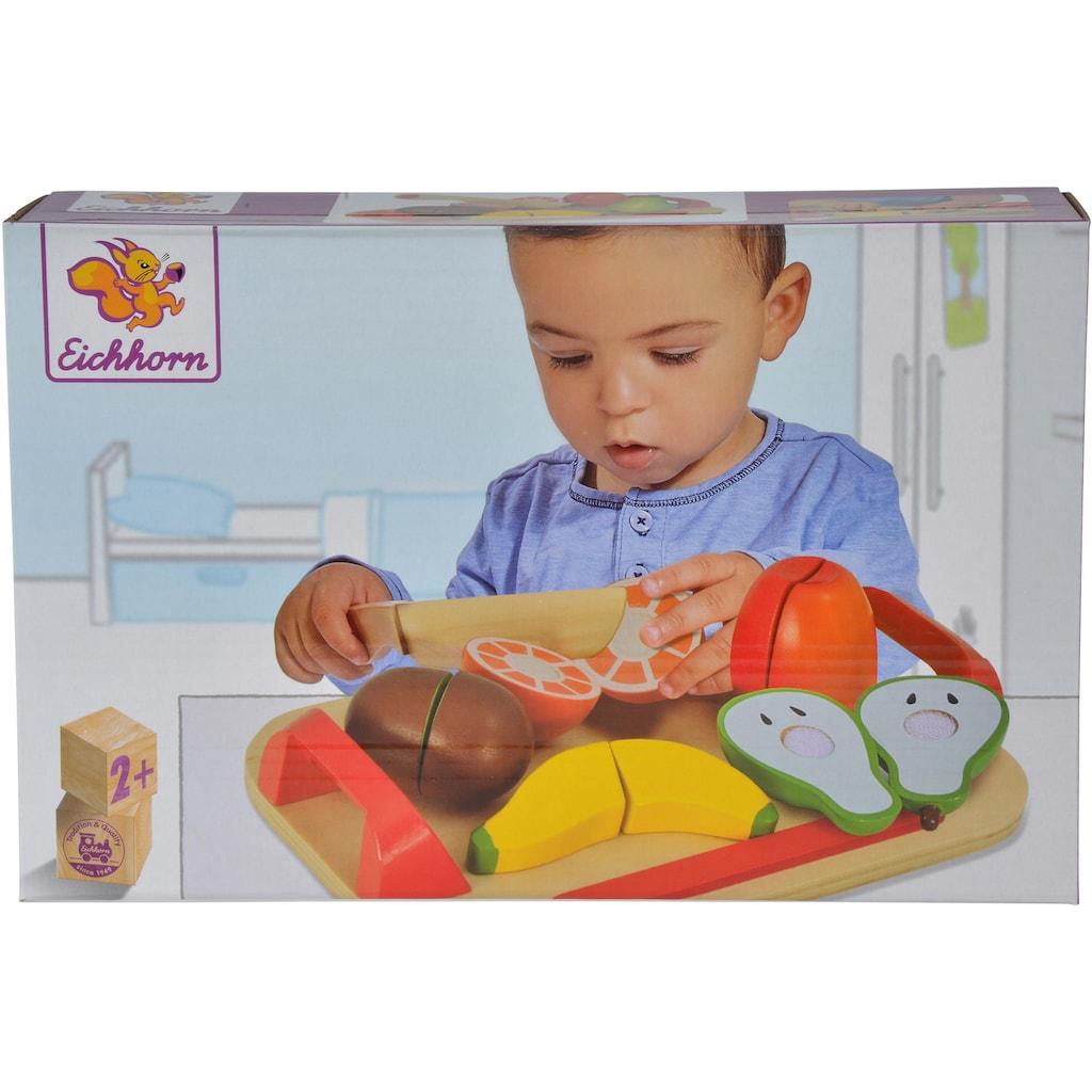 Eichhorn Spiellebensmittel »Holzfrüchte auf Brett«