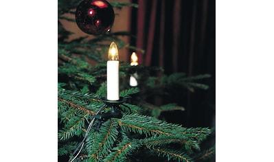 KONSTSMIDE LED-Christbaumkerzen, 25 St.-flammig, LED Baumkette, Topbirnen, One String,... kaufen