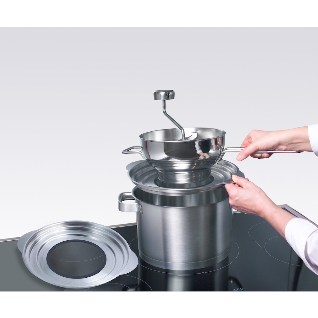 GSD HAUSHALTSGERÄTE Topfuntersetzer, für Passiermaschine und Topfgrößen 20, 24 und 26 cm