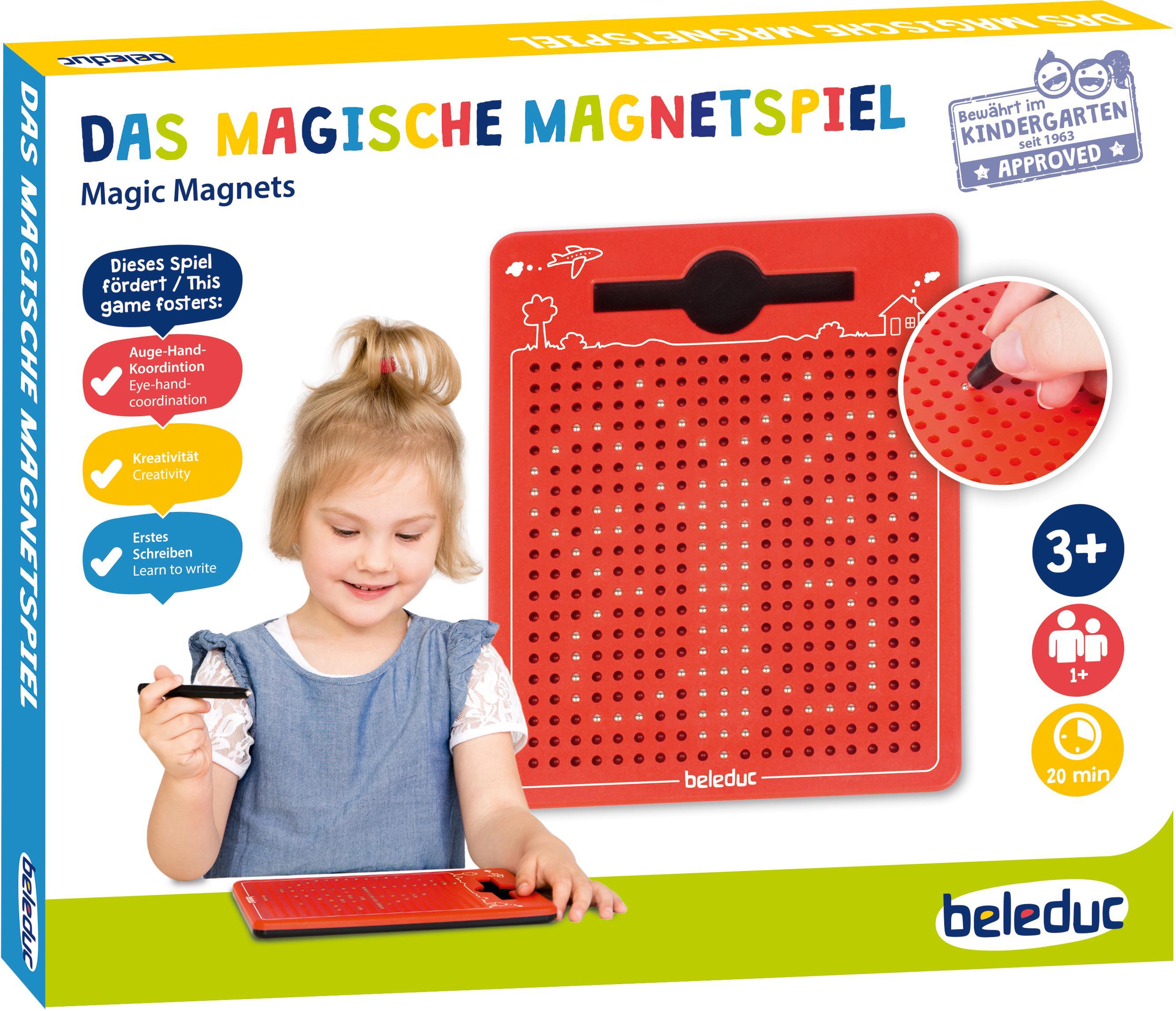 Beleduc Magnettafel, »Das magische Magnetspiel,...