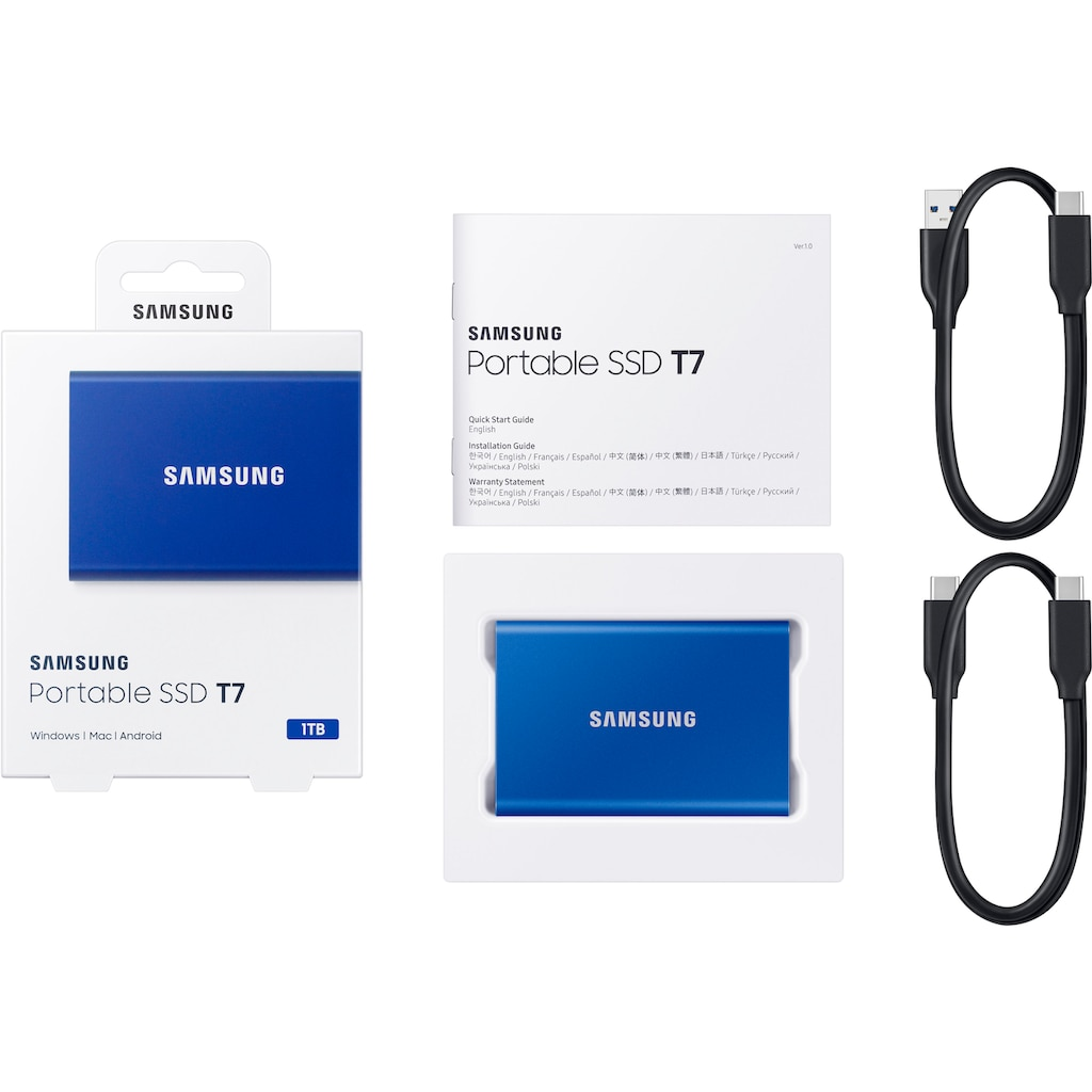 Samsung externe SSD »Portable SSD T7«