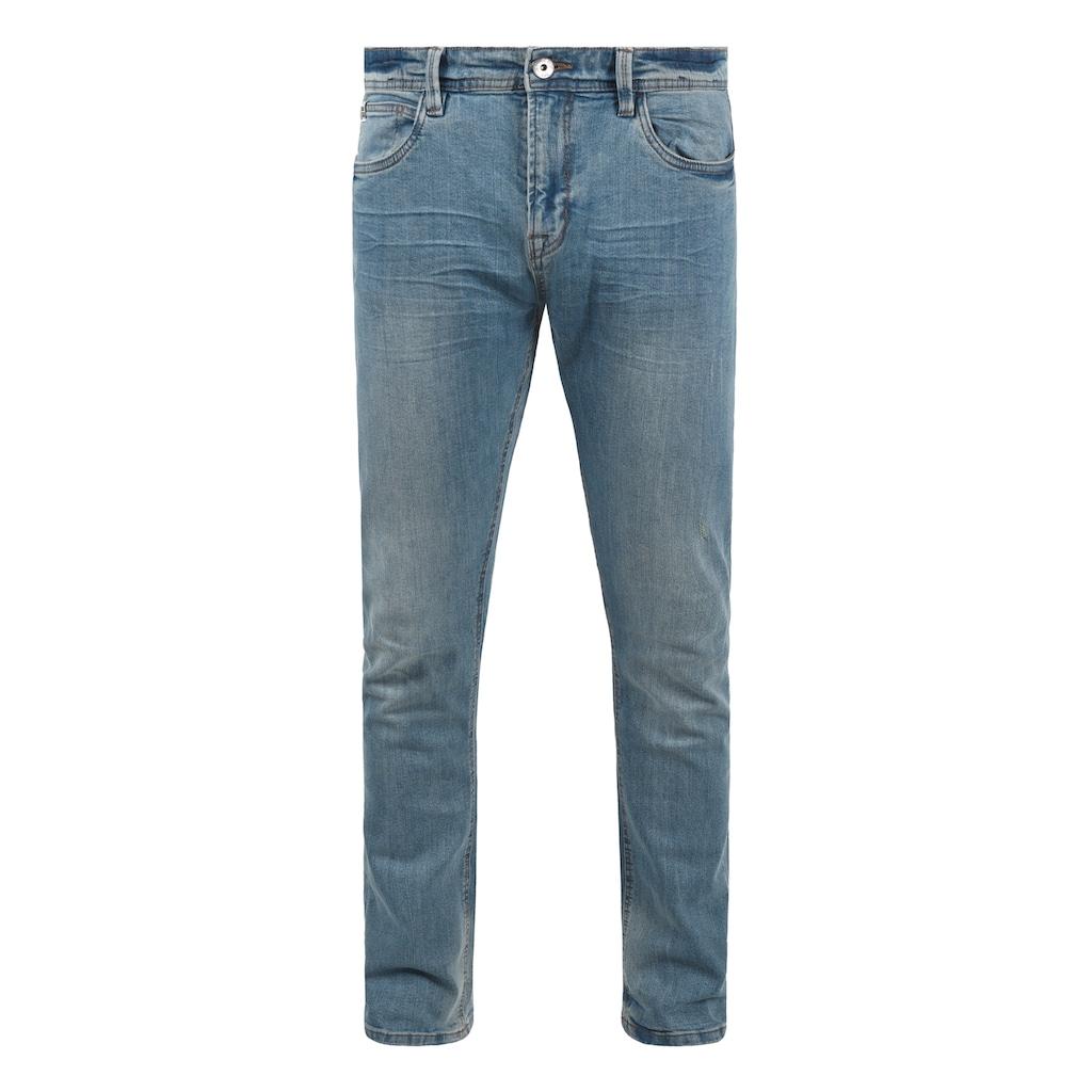 Indicode 5-Pocket-Jeans »Aldersgate«, Denim Hose mit dekorativen Knitterfalten