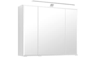 HELD MÖBEL Spiegelschrank »Fontana«, Breite 80 cm, mit Soft-Close-Funktion, LED... kaufen