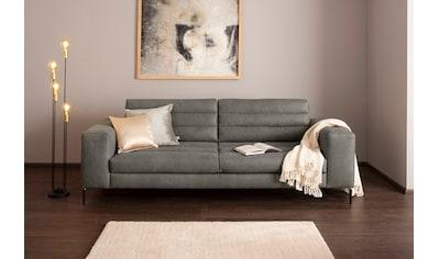 Premium collection by Home affaire 3-Sitzer »Brandwood«, mit extra hohen Füßen und... kaufen