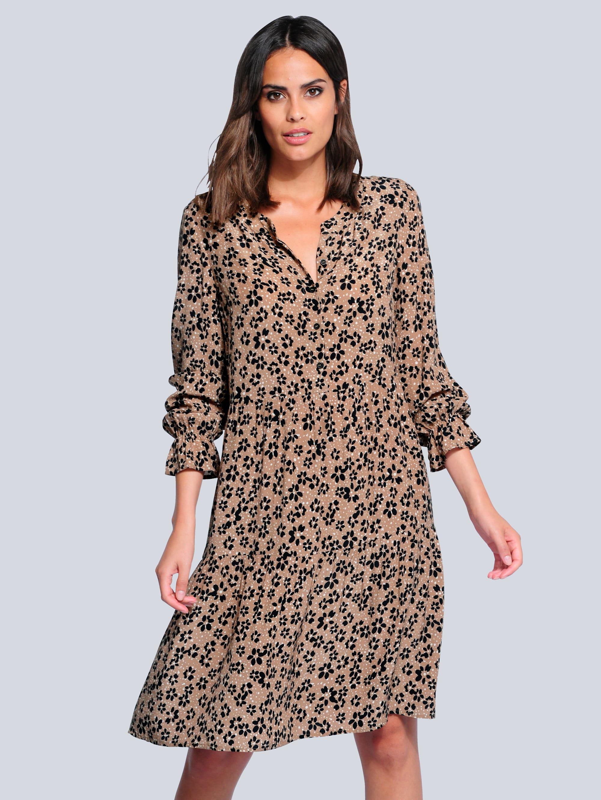 alba moda -  Druckkleid im aktuellen Mille Fleur Print