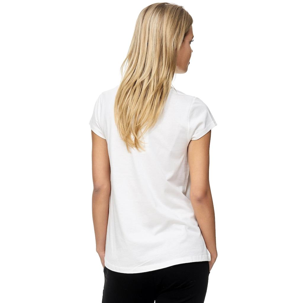 Decay T-Shirt, mit paillettenbesetztem Vintage-Print