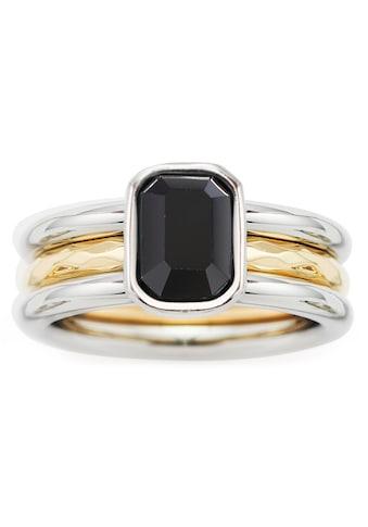 LEONARDO Fingerring »018973, 018974, 018975, Set/2 Ring Savona«, (Set, 2 tlg.), mit... kaufen