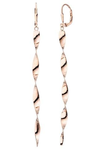 JOBO Paar Ohrhänger »Spirale«, 925 Silber roségold vergoldet kaufen