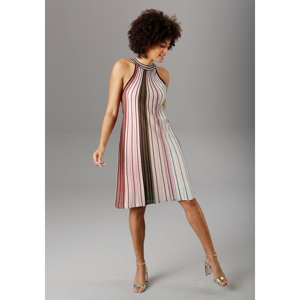 Aniston SELECTED Partykleid, im modischen Streifen