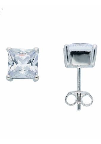 Adelia´s Paar Ohrstecker »925 Silber Ohrringe / Ohrstecker mit Zirkonia«,... kaufen