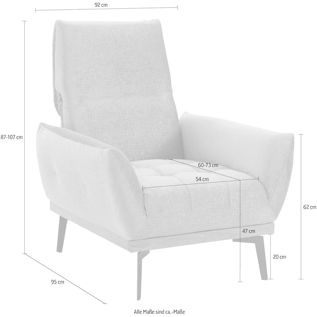 Guido Maria Kretschmer Home&Living Sessel »Palíc«, inklusive Rückenverstellung