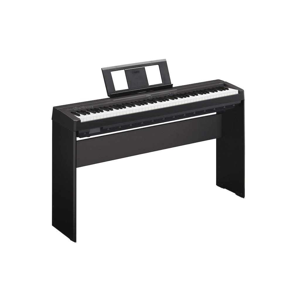 Yamaha Digitalpiano »P45B«, mit Tuning- und Transponierfunktionen