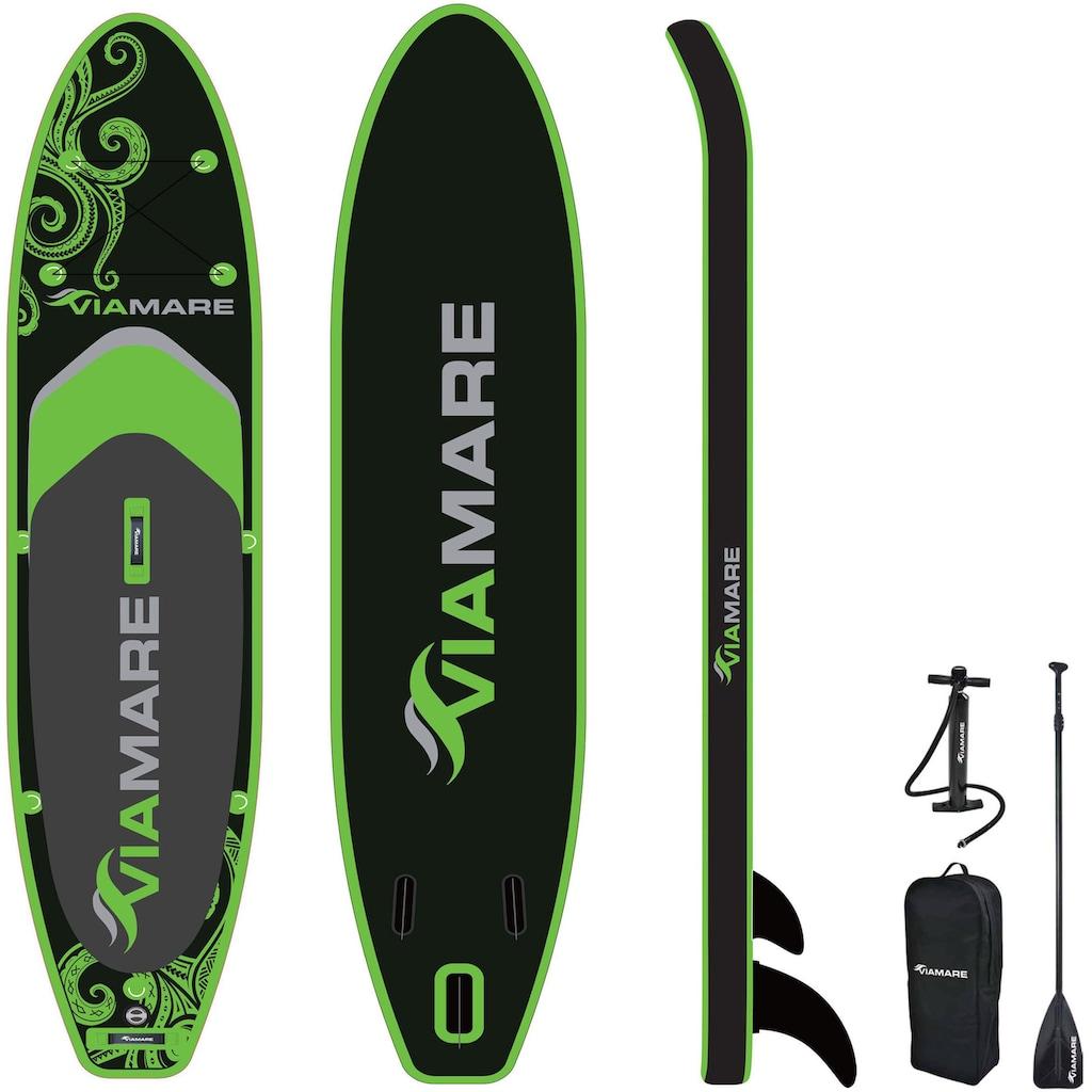 VIAMARE Inflatable SUP-Board »SUP Set VIAMARE 330 S Octopus grün-schwarz«