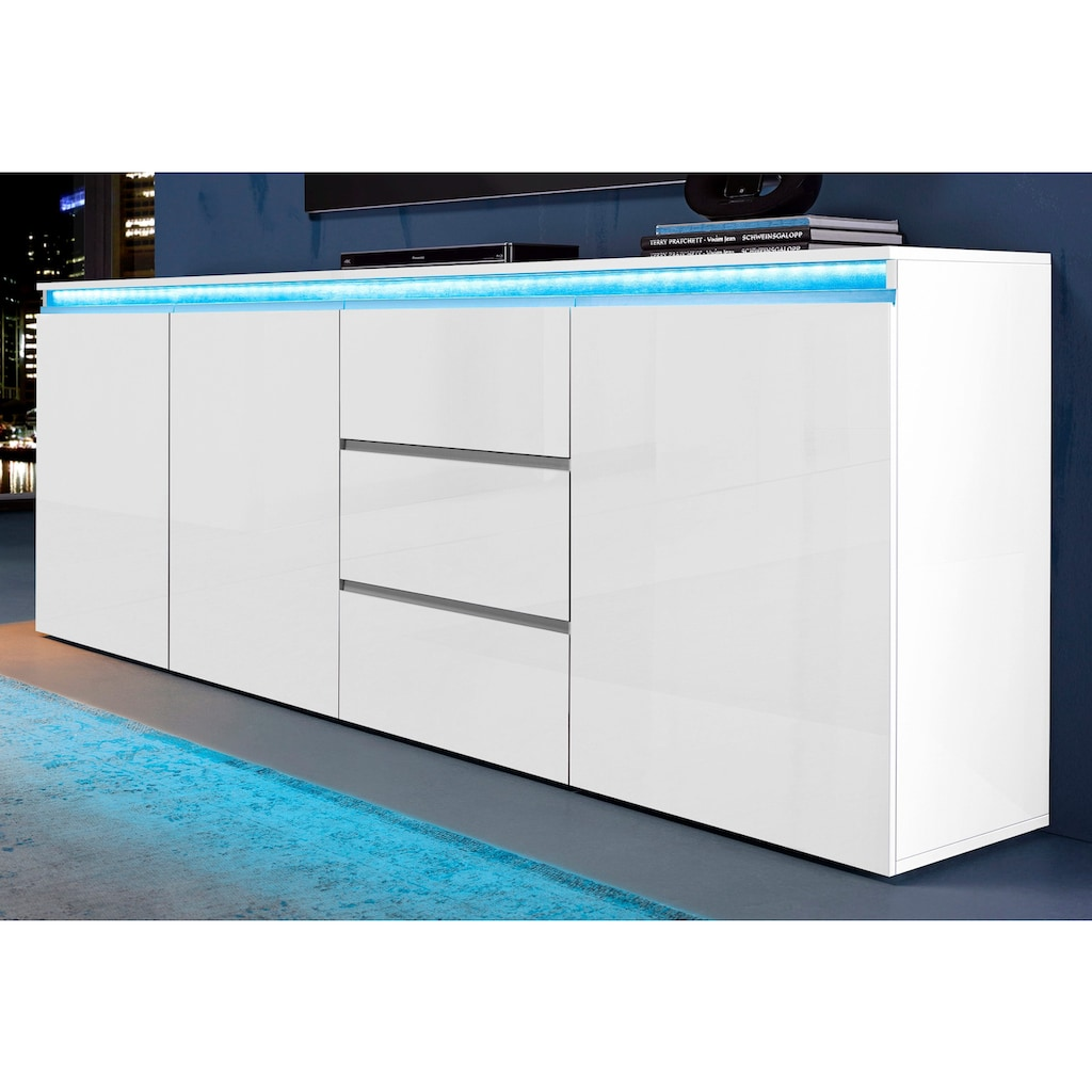 Tecnos Sideboard »Magic«, Breite 200 cm, ohne Beleuchtung