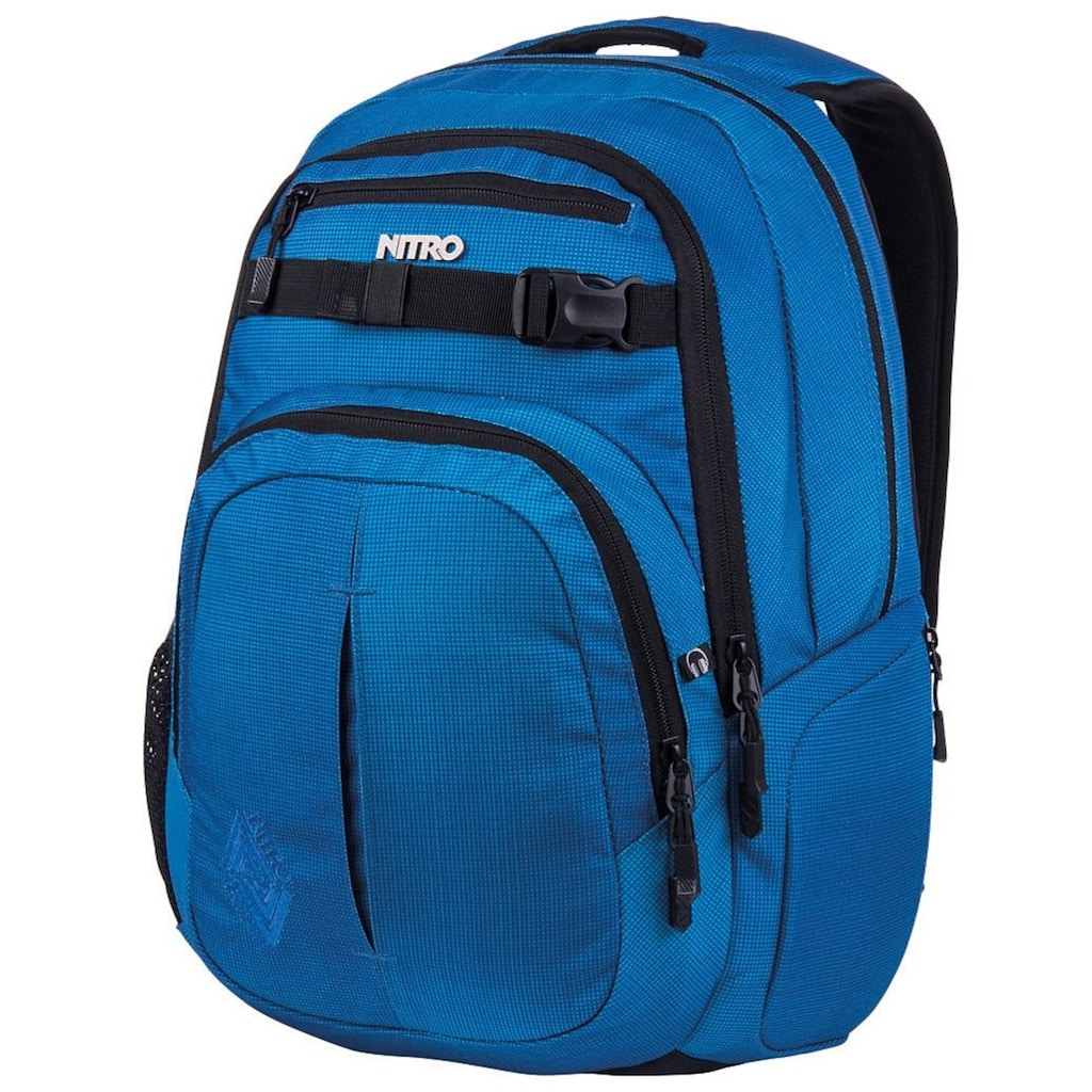 NITRO Schulrucksack »Chase, Blur Brilliant Blue«