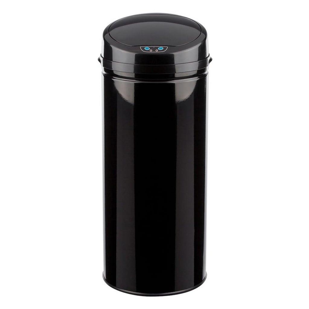 ECHTWERK Mülleimer »INOX BLACK«, Infrarot-Sensor, Fassungsvermögen 42 Liter