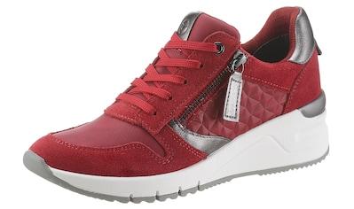 Tamaris Wedgesneaker »Rea«, mit gepolstertem Schaftrand kaufen