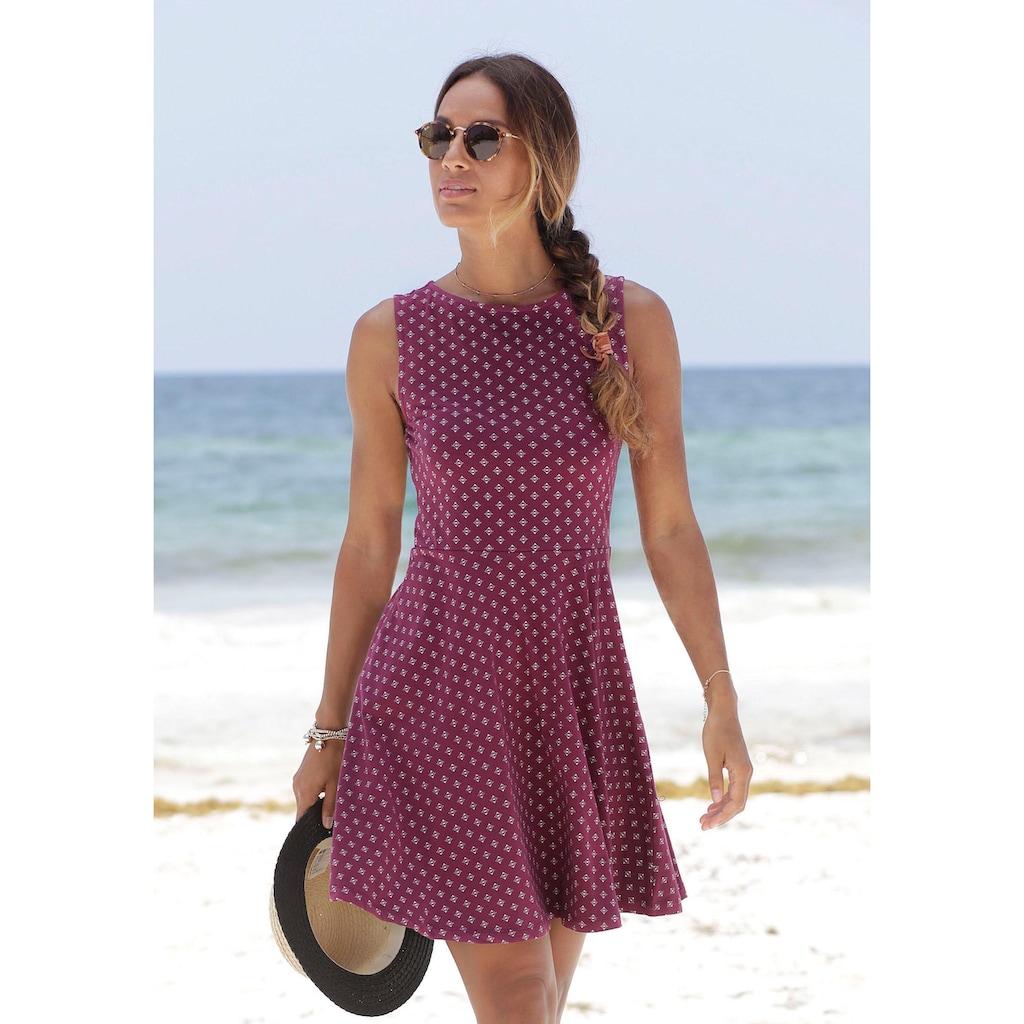 Beachtime Strandkleid, mit Alloverdruck