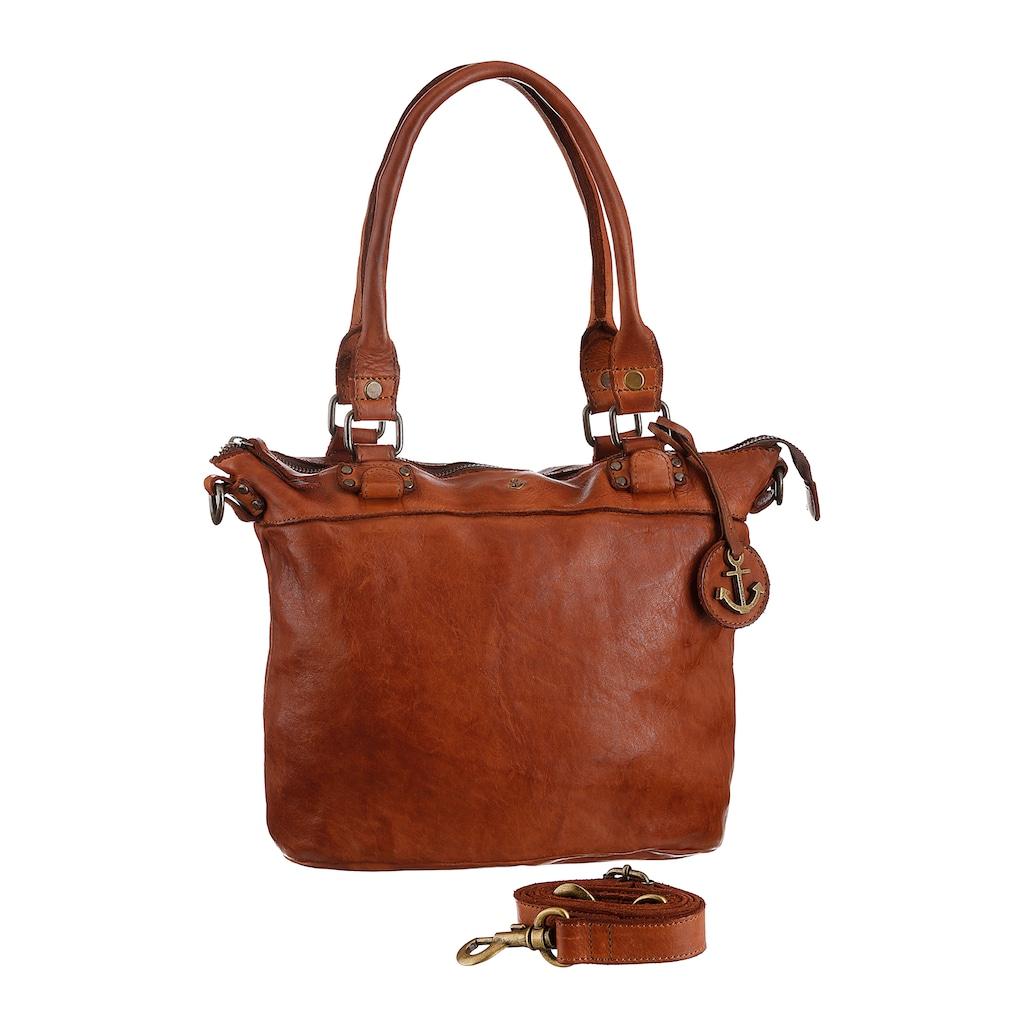 HARBOUR 2nd Shopper »Bianca«, aus Leder mit typischen Marken-Anker-Label und Schmuckanhänger