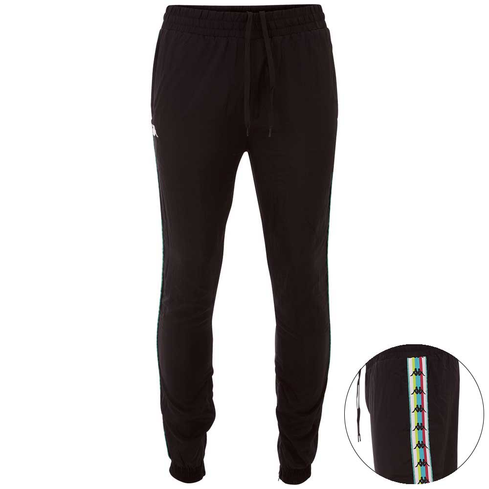 Kappa Trainingshose AUTHENTIC FLORENTIN | Sportbekleidung > Sporthosen > Trainingshosen | Schwarz | Kappa