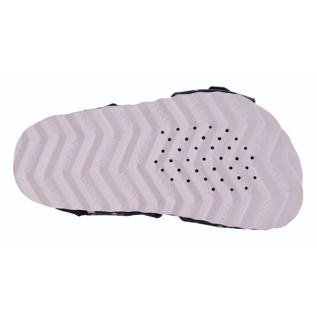 Geox Kids Sandale »CHALKI GIRL«, mit patentierter Geox Spezial Membrane