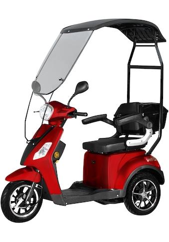 Didi THURAU Edition Elektromobil »3-Rad Bologna mit Wind-und Wetterschutz 25 km/h«, 1000 W, 25 km/h, (mit Topcase) kaufen