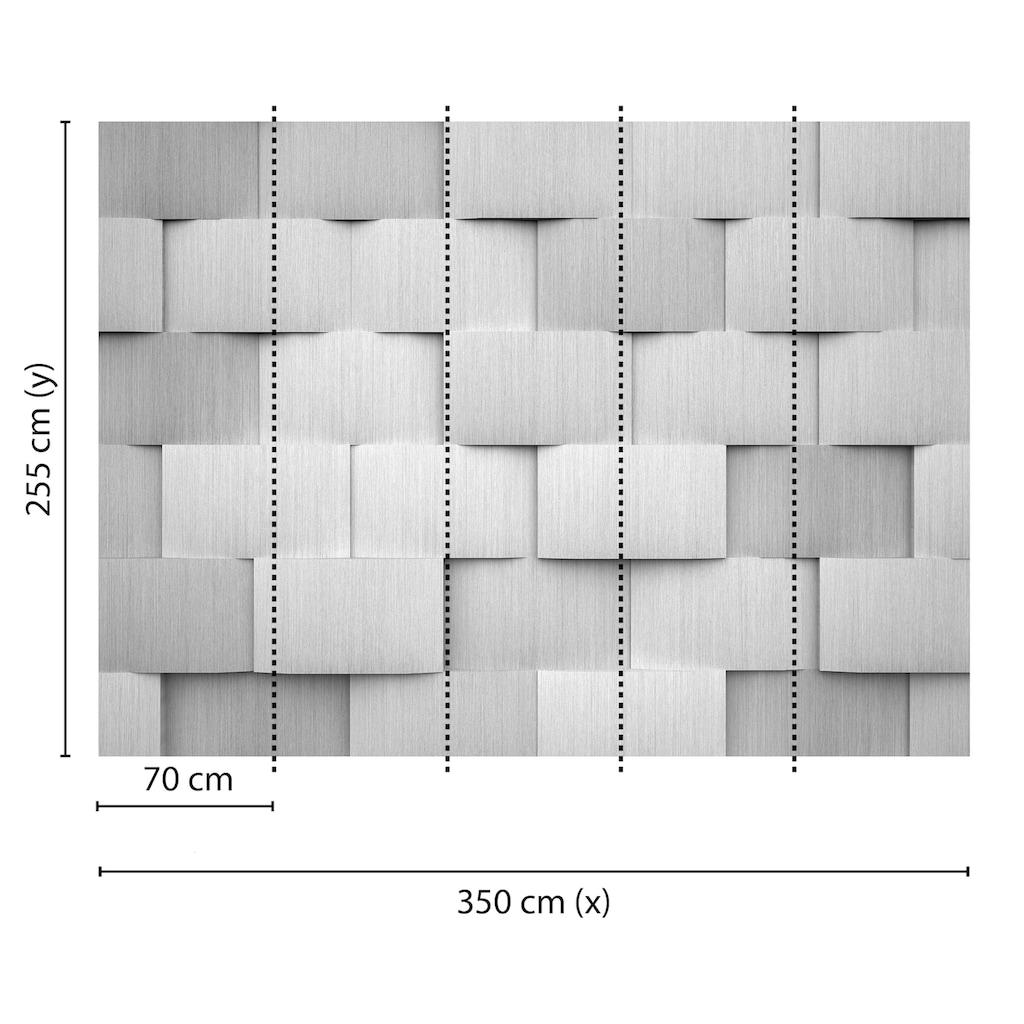 living walls Fototapete »Designwalls Alu Pattern 1«