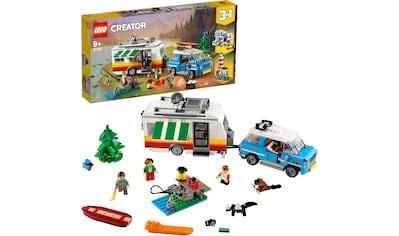 """LEGO® Konstruktionsspielsteine """"Campingurlaub (31108), LEGO® Creator"""", (766 - tlg.) kaufen"""