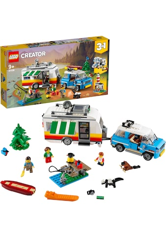 LEGO® Konstruktionsspielsteine »Campingurlaub (31108), LEGO® Creator«, (766 St.), Made in Europe kaufen