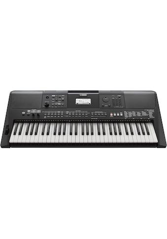 Yamaha Keyboard »PSR-E463RML«, mit USB Audio Recorder; inkl. 1 Online Stunde... kaufen
