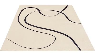 LeGer Home by Lena Gercke Teppich »Kirana«, rechteckig, 20 mm Höhe, Druck-Teppich,... kaufen