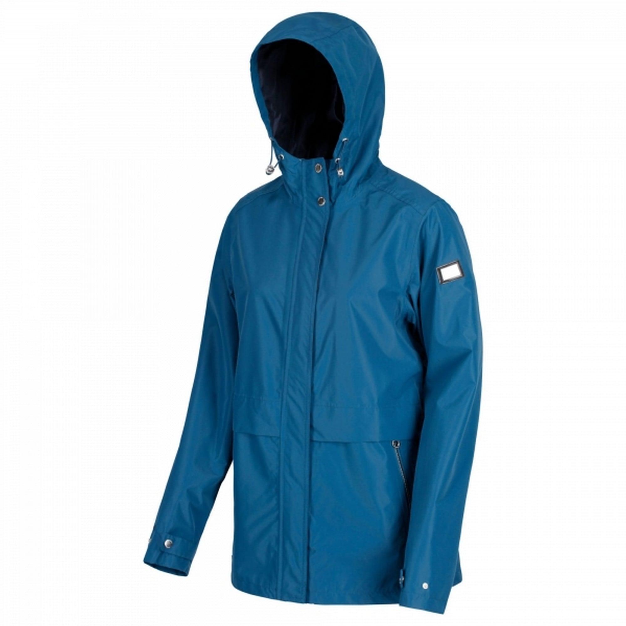 Regatta Outdoorjacke Damen Jacke Bidelia mit Kapuze | Sportbekleidung > Sportjacken > Outdoorjacken | Blau | Polyester - Taft | Regatta