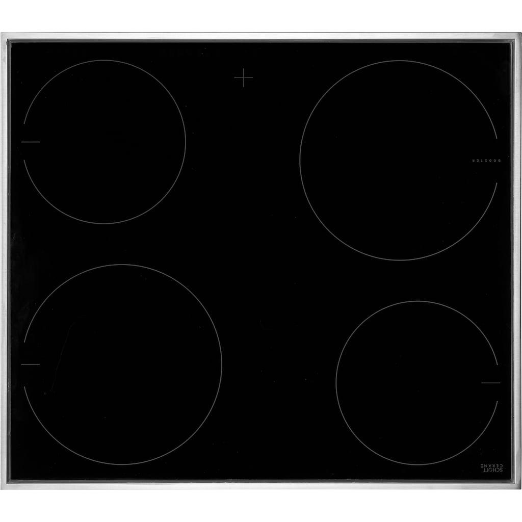 Amica Elektro-Herd-Set »EHIX 933 120 E«, EHIX 933 120 E, mit 1-fach-Teleskopauszug, softClose