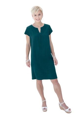 Casual Looks Kleid mit figurfreundlichen Abnähern im Vorderteil kaufen
