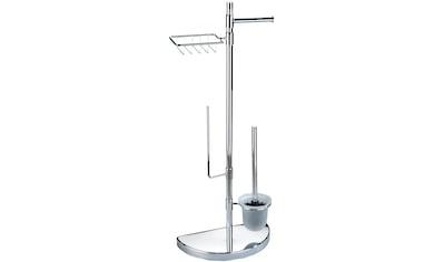 WENKO WC - Garnitur »Raumsparwunder«, mit Ersatzrollen -  und Feuchttücher - Halter kaufen
