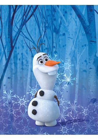 KOMAR Wanddekoration »Frozen Olaf Crystal«, ohne Rahmen kaufen