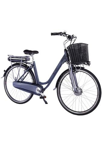 LLobe E-Bike »Black Motion 2.0, 10,4Ah«, (mit Fahrradkorb) kaufen