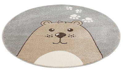 Kinderteppich, »Bear«, Lüttenhütt, rund, Höhe 14 mm, maschinell gewebt kaufen