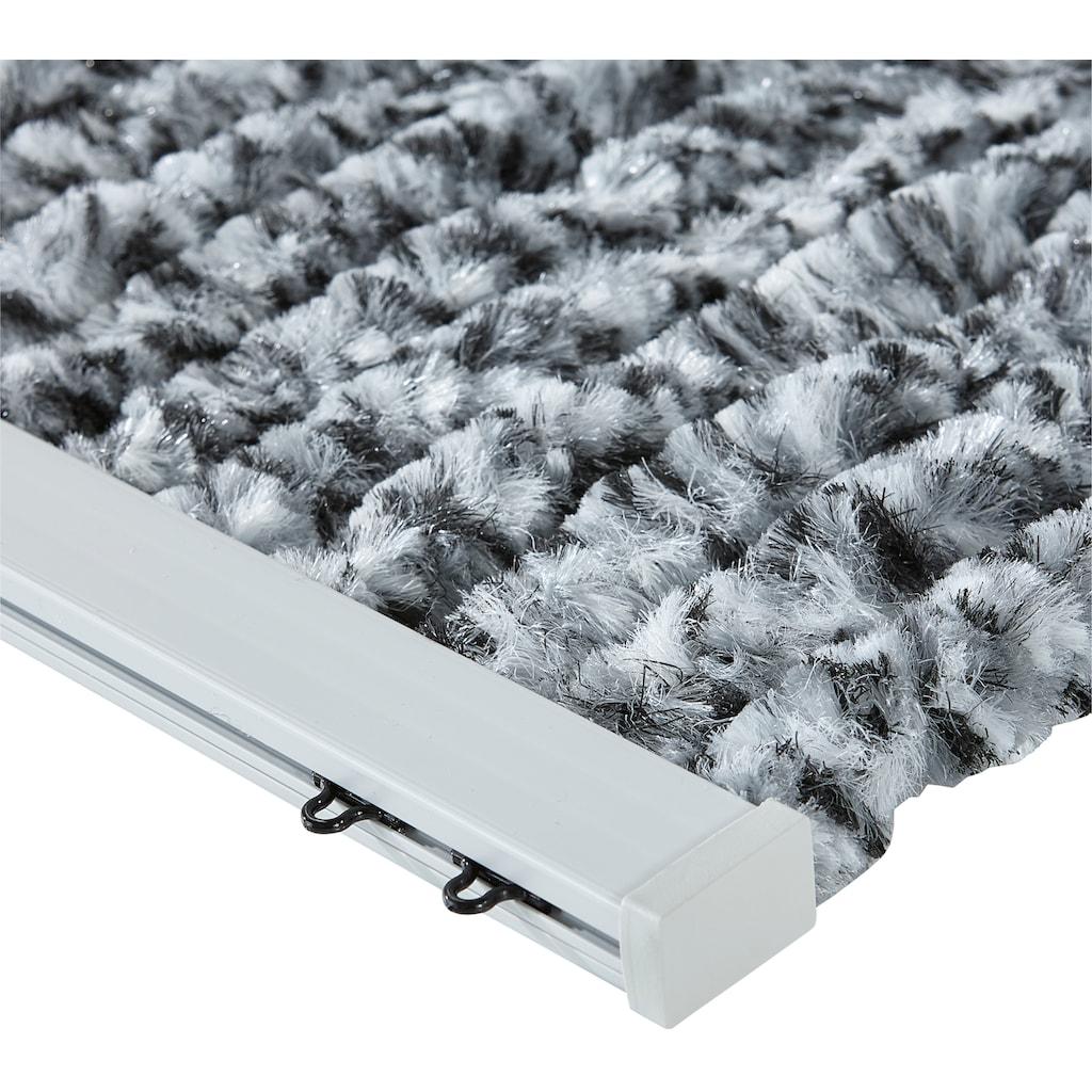 EXPLORER Insektenschutz-Vorhang, grau/weiß/schwarz
