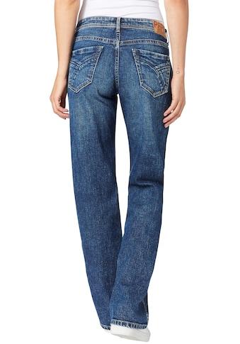 Pepe Jeans Straight-Jeans »NEW OLYMPIA«, in lässigem Schnitt mit weitem geraden Bein kaufen
