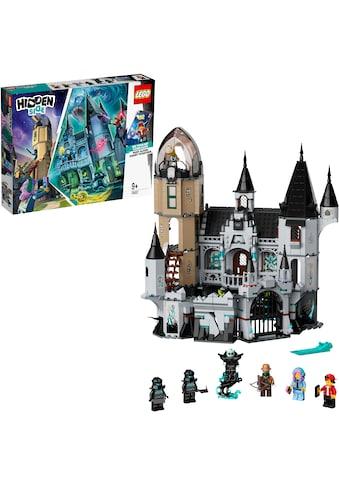 """LEGO® Konstruktionsspielsteine """"Geheimnisvolle Burg (70437), LEGO® Hidden Side™"""", Kunststoff, (1035 - tlg.) kaufen"""