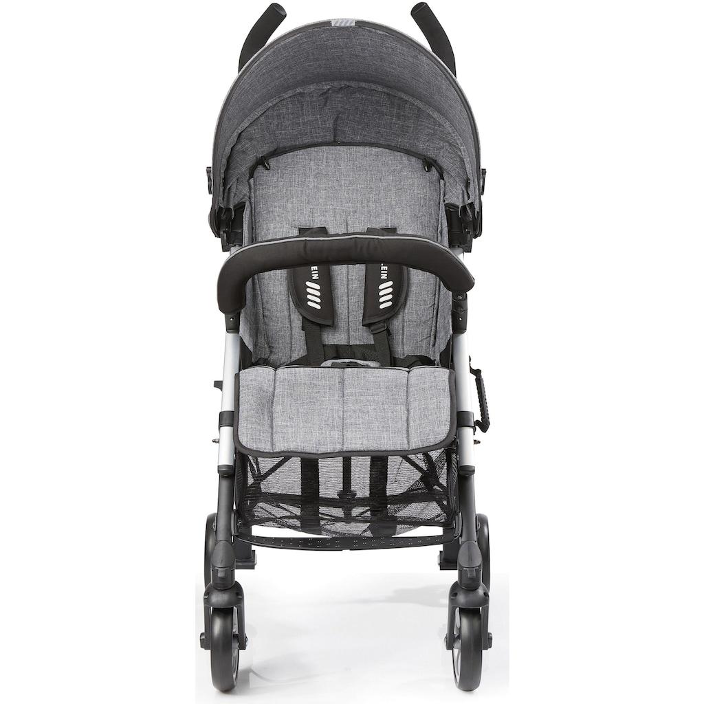 Gesslein Kinder-Buggy »S5 2+4, Anthrazit«, mit schwenkbaren Vorderrädern; Kinderwagen, Buggy, Sportwagen, Sportbuggy, Kinderbuggy, Sport-Kinderwagen