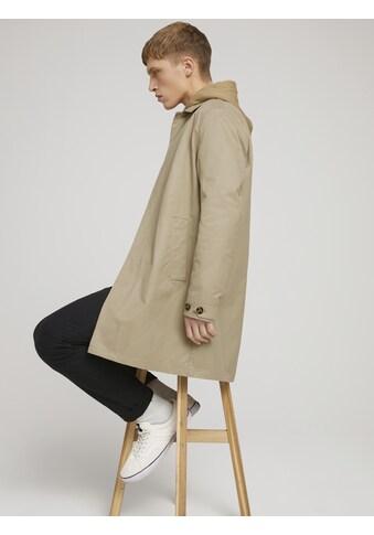 TOM TAILOR Denim Jerseymantel »Mantel mit verdeckter Knopfleiste« kaufen
