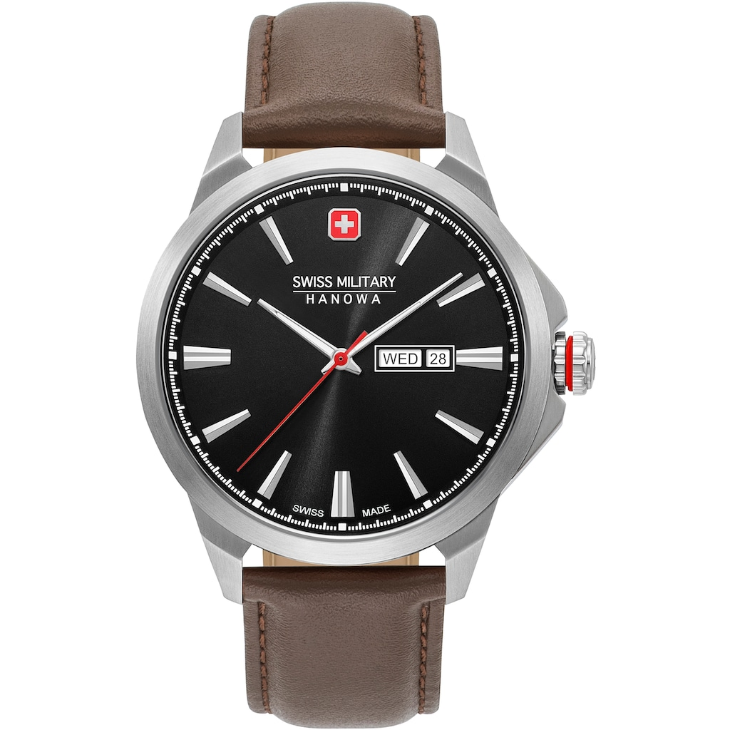Swiss Military Hanowa Schweizer Uhr »DAY DATE CLASSIC, 06-4346.04.007«