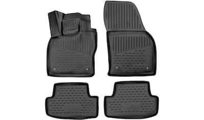 WALSER Passform-Fußmatten »XTR«, Audi, Q2, SUV, (4 St.), für Audi Q2 BJ 06/2016 - Heute kaufen