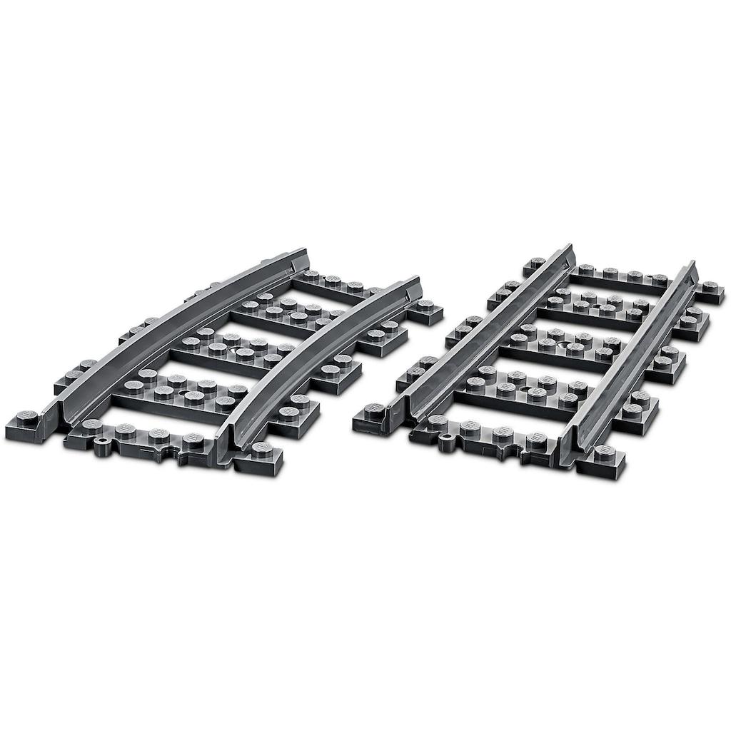 LEGO® Konstruktionsspielsteine »Personenzug (60197), LEGO® City«, (677 St.)