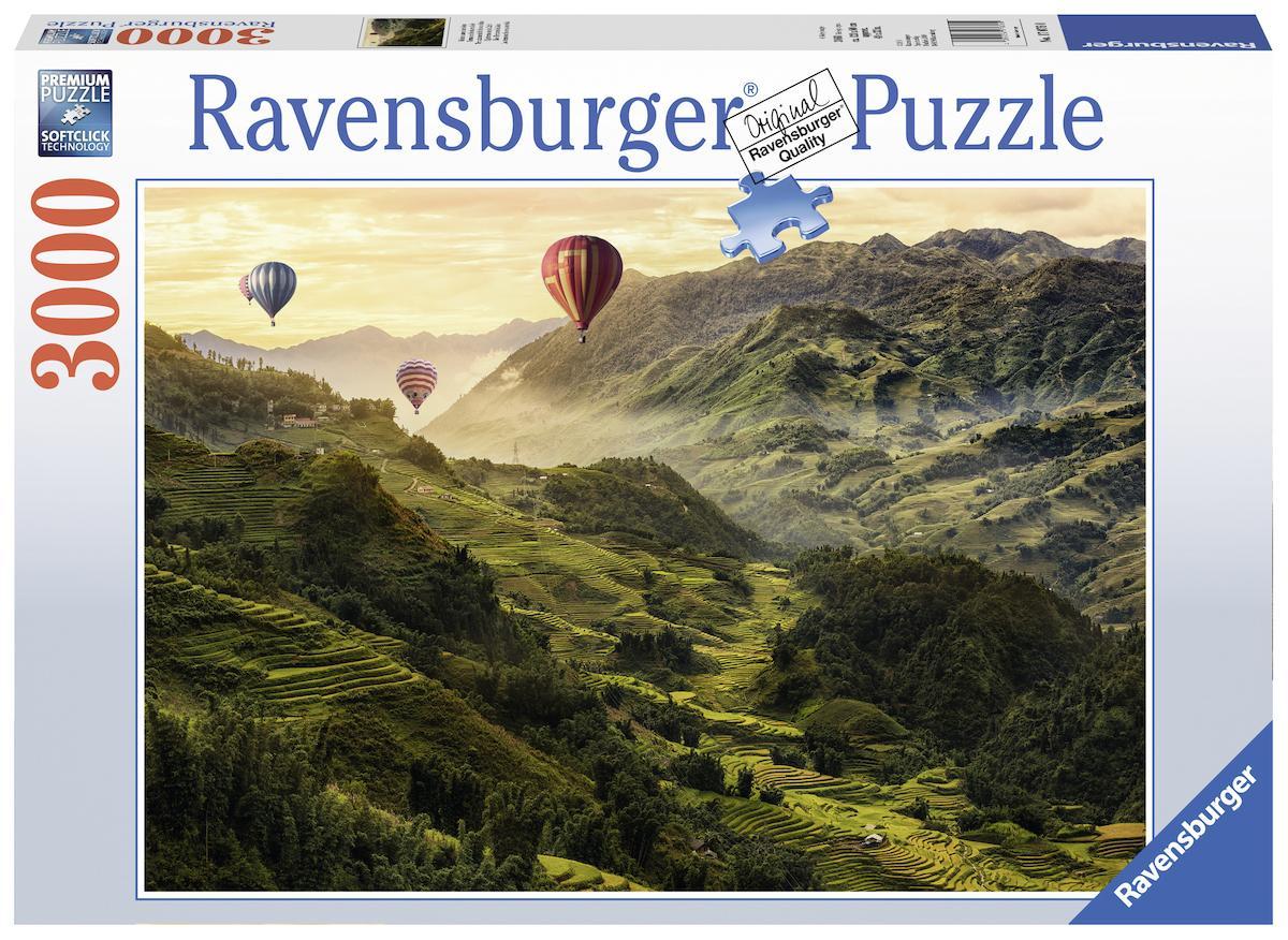 """Ravensburger Puzzle """"Reisterrassen in Asien"""" Kindermode/Spielzeug/Gesellschaftsspiele/Puzzle/Puzzle"""