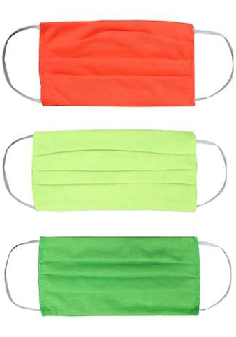 Zwillingsherz Mund - Nasen - Masken (Packung, 3 Stück) kaufen