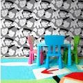 Art for the home Papiertapete »Mickey Handshake«, 1000 cm Länge