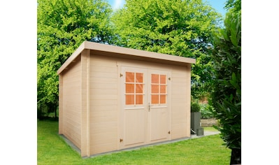 WOLFF FINNHAUS Gartenhaus »Gent C«, BxT: 332x334 cm kaufen